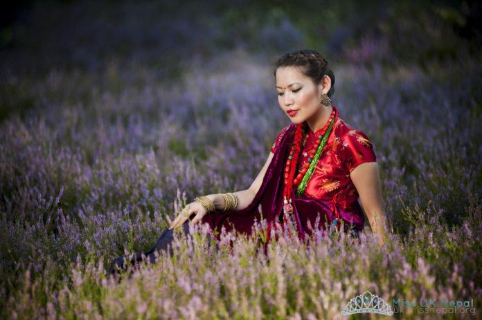 Durga Gurung Miss UK Nepal 1