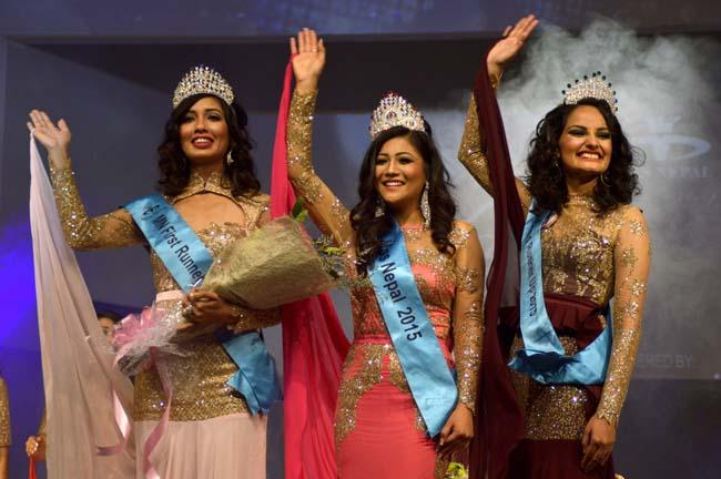 Evana Manandhar becomes miss Nepal 2015
