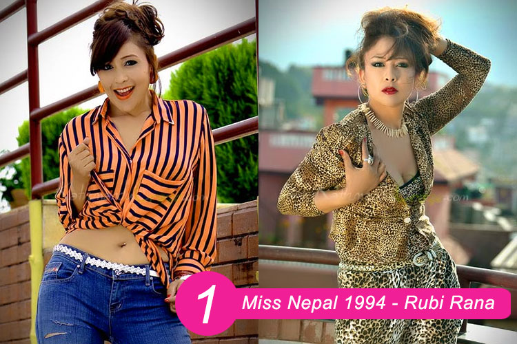 Miss Nepal 1994 Rubi Rana
