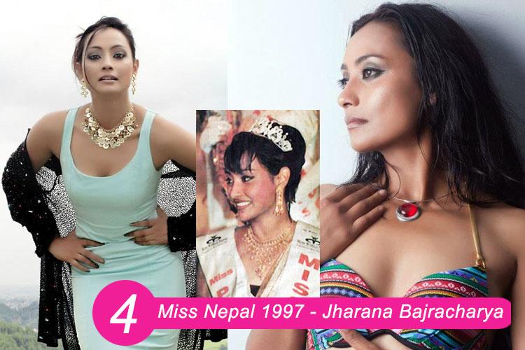 Miss Nepal 1997 – Jharana Bajacharya