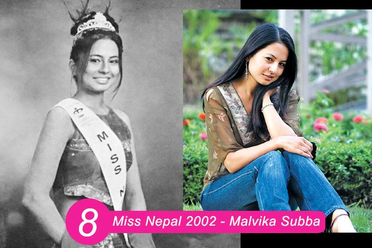 Miss Nepal 2002 Malvika Subba
