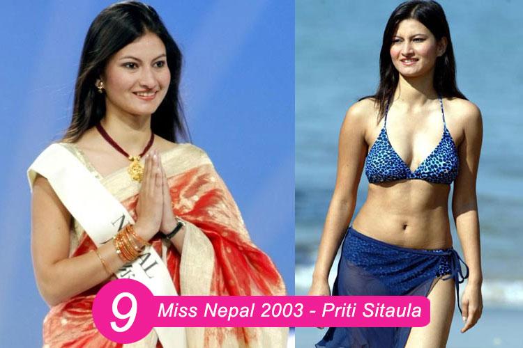 Miss Nepal 2003 Priti Sitaula