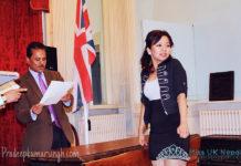 Miss UK Nepal 2012 at Embassy of Nepal 2